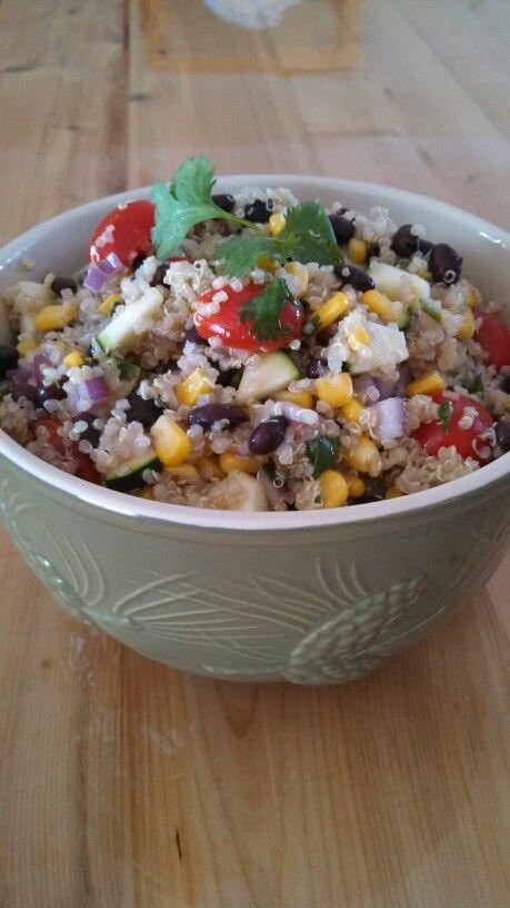Southwest Quinoa Salad | Easy Recipes | Pinterest