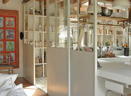 astuces pour s parer sans cloisonner interior pinterest. Black Bedroom Furniture Sets. Home Design Ideas