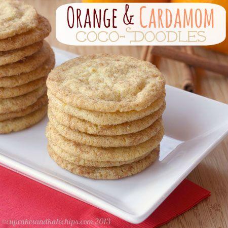 Orange & Cardamom Coco-Doodles (Coconutty Snickerdoodles) - November ...