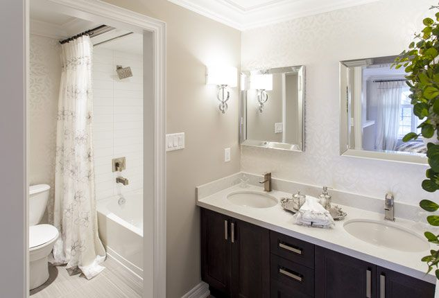 Picture for bathroom walls - Simple Beautiful Bathrooms Pinterest