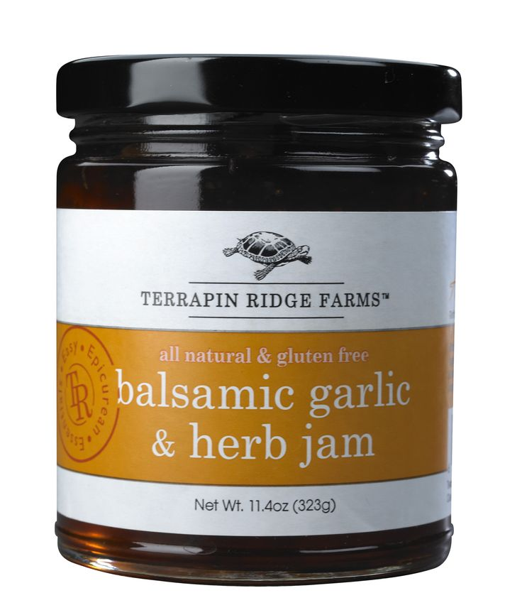 Herb Gourmet Jam $8.00 Balsamic vinegar, roasted garlic and herbs ...