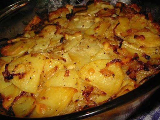 Easy Cheesy Potato Bake | Food I might fix | Pinterest
