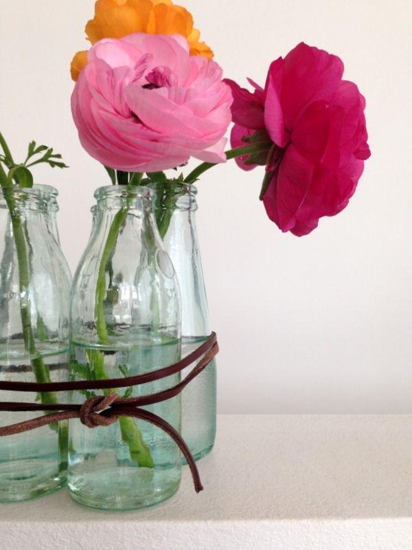 Muttertag ohne Blumenstrauß ::: DIY Vase | from knobz | Pinterest