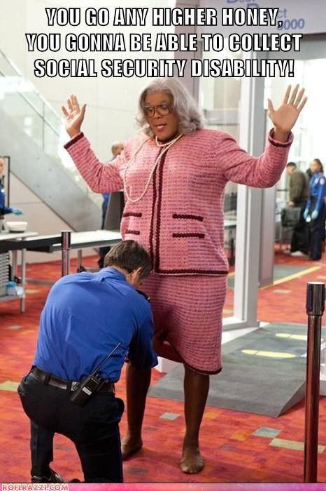 tyler perry madea, madea witness protection, madea airline, madea flight, madea airplane, madea airport security, madea meme, madea funny, madea quote