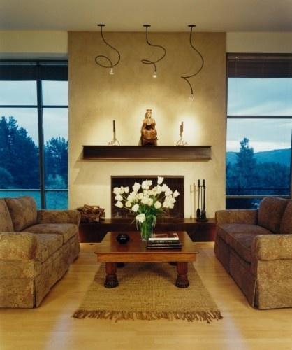 fireplace mantel and lights fireplace designs pinterest. Black Bedroom Furniture Sets. Home Design Ideas