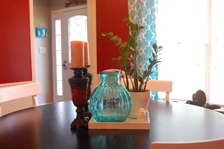 Turquoise red dining room paint ideas pinterest for Red and turquoise living room ideas