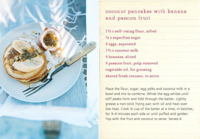 Malaysian Banana Pancakes With Lemon Coconut Curd Recipes — Dishmaps