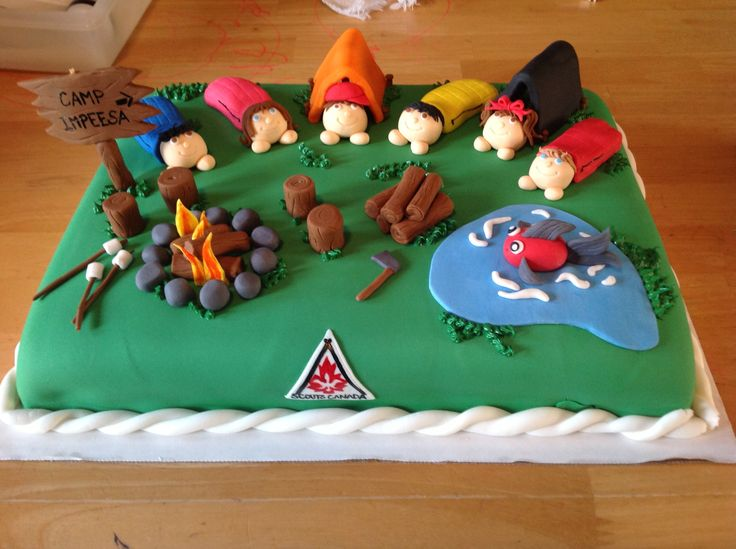 Cake Ideas For Boy Scouts : Boy Scouts cake For the boy Pinterest