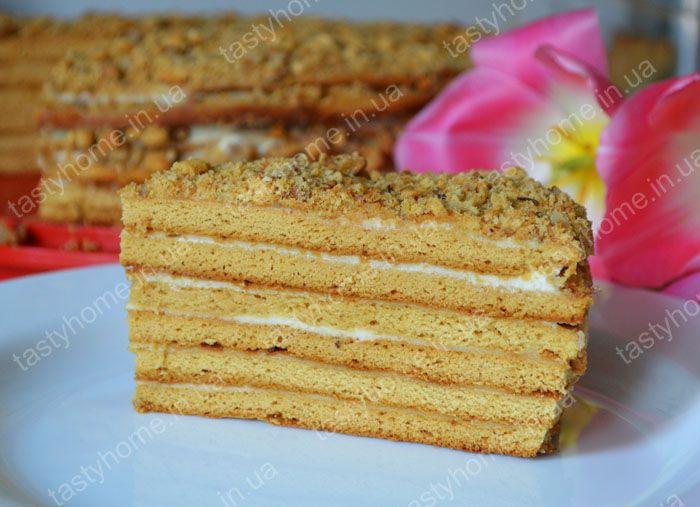 Торт медовик по гост рецепт с пошагово в домашних условиях
