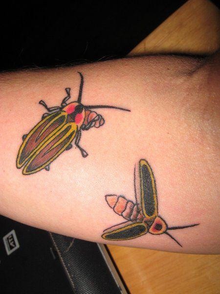 Lightning Bug Tattoo Lightning Bug