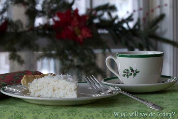 White Christmas Pie | Foods | Pinterest