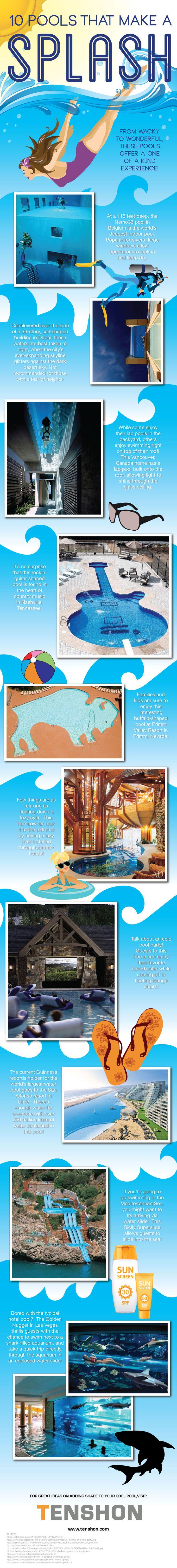 10 Pools That Make a Splash