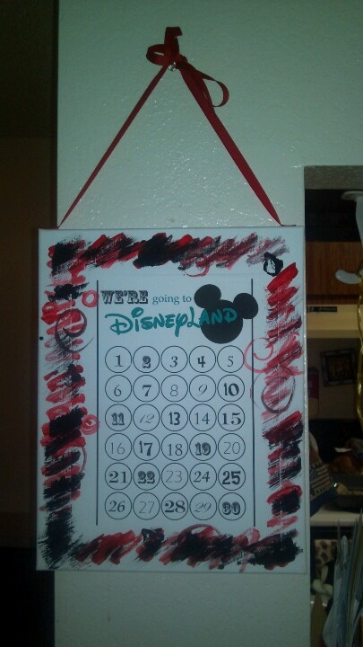 Going to make this i think i will be more excited about the count down