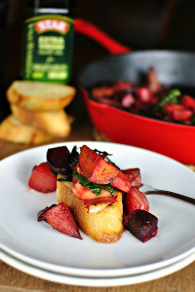 STAR Winter Vegetable Skillet Hash using STAR Arbequina Usage Pairing ...