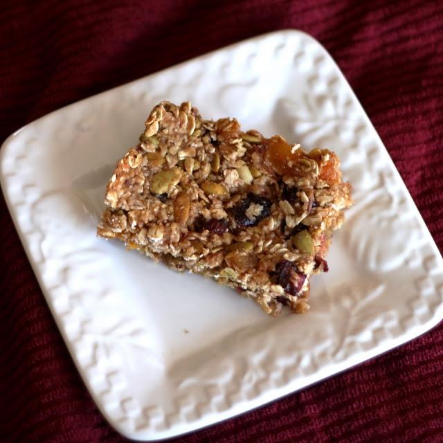 Cranberry-Orange Butter Granola Bars | granola | Pinterest