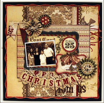 Christmas scrapbook layout holiday cards and scrapbooking pintere