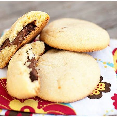 Nutella-Filled Shortbread Cookies Recipes — Dishmaps
