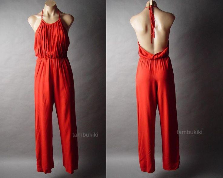 Red boho jumpsuit ¤♥ | STYLE | Pinterest