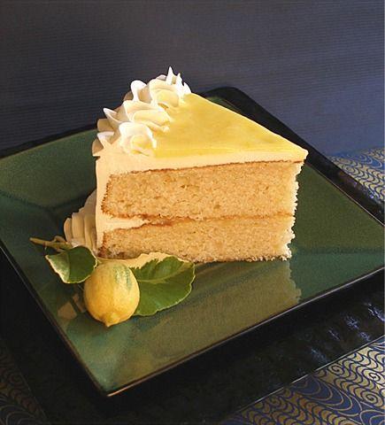 Gluten-free Yellow Butter Cake Slice   CraftyBaking.com Cake Recipes ...