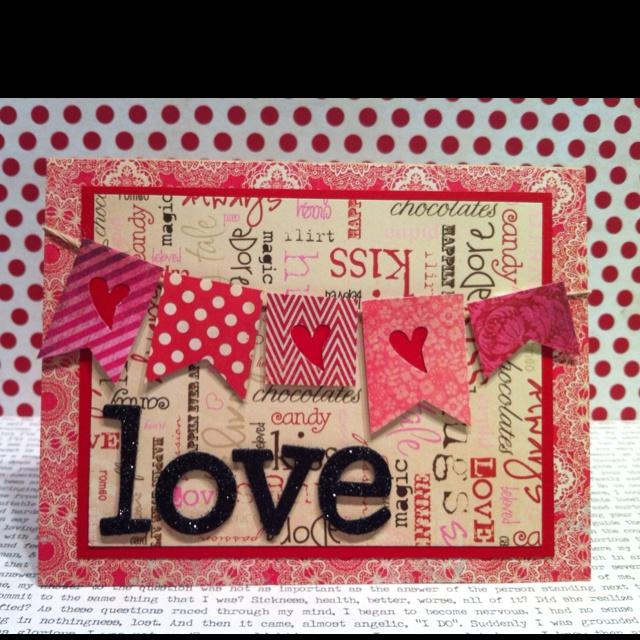 valentine's day banner design
