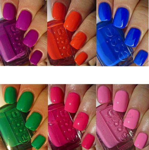 Essie Nail Polish Neon 2013 Collection Limited Collection 6 Colors | eBay