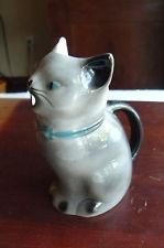 Tony Wood Staffordshire England BEAUTIFUL VINTAGE  Cat  Creamer