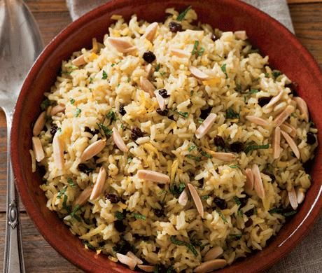 Brown Rice Pilaf with Saffron and Ginger | Healthy Foods & Habits & C...