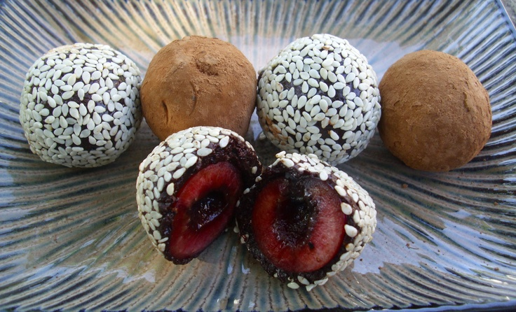 ... of sesame balls & Cocao, inspired by my family's love of chocolate
