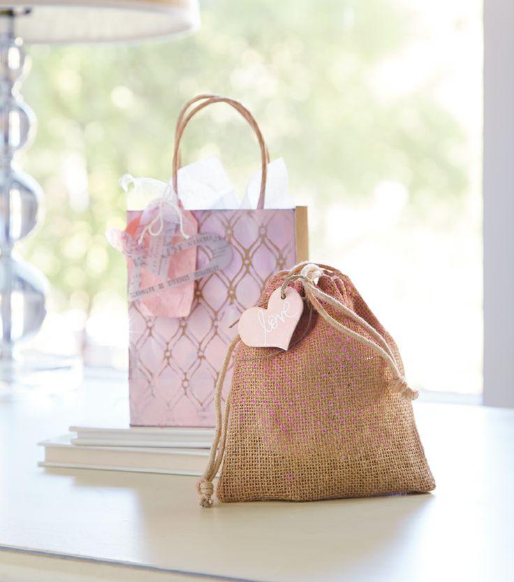 Heidi Swapp™ Stenciled Gift Bag