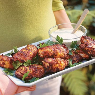 Grilled Chicken With White Barbecue Sauce Recipe - Delish.com