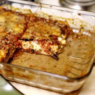Light Eggplant Parmesan | Food | Pinterest
