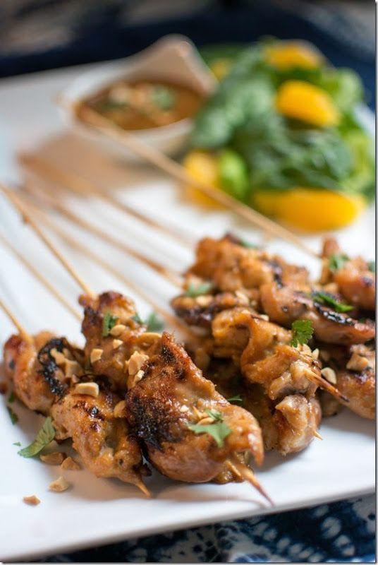 Chicken satay | Food | Pinterest