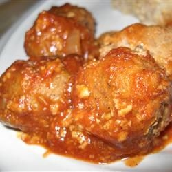 Different variation on Cajun Appetizer Meatballs