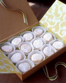 These are the perfect tea cookie.  Try adding sour cream to recipe.