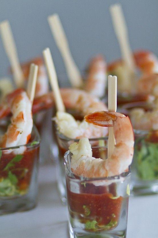 mini shrimp cocktail appetizers mini shrimp cocktail food beverage ...
