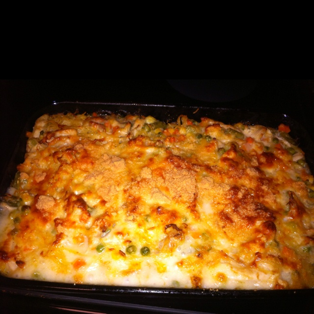 Chicken tetrazzini | Food Food Food and More Food | Pinterest