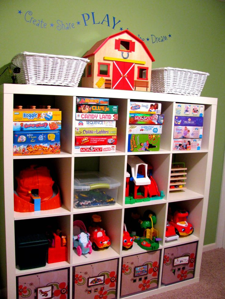 Organizing Toys Games Childrens Decor Pinterest