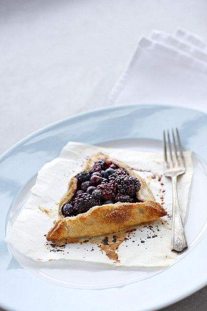 Berry Galette | Cakes, sweets, desserts... | Pinterest