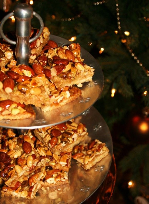 Rustic Nut Bars | Sweets | Pinterest