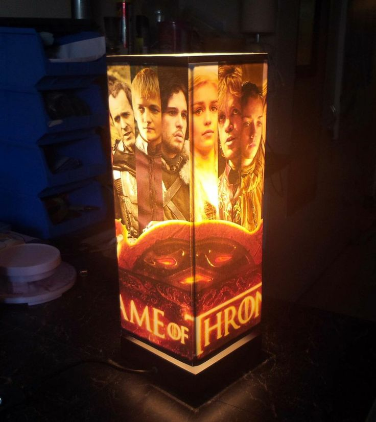 Design Your Own Lamp Game Of Thrones Example