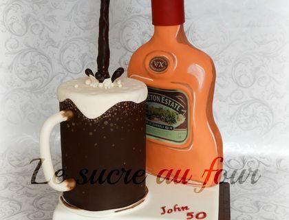 Rum and Coke cake....oupss more like Rum and Pepsi haha I made this ...