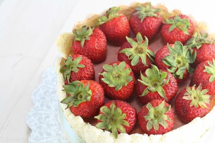 Strawberry Charlotte ~ #MonthlyMiettes