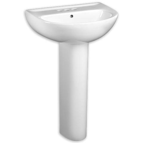 Round Pedestal Sink : ... sinks/Evolution-24-Pedestal-Sink-6113/#loc_about Nominal Dimensions