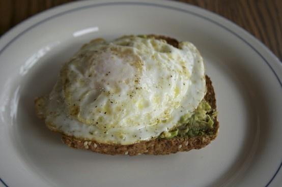 Avocado Breakfast Toast! | What's cookin'? | Pinterest