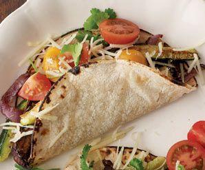 The Kosher Gourmet: Rethinking the taco: Portobello and zucchini ...
