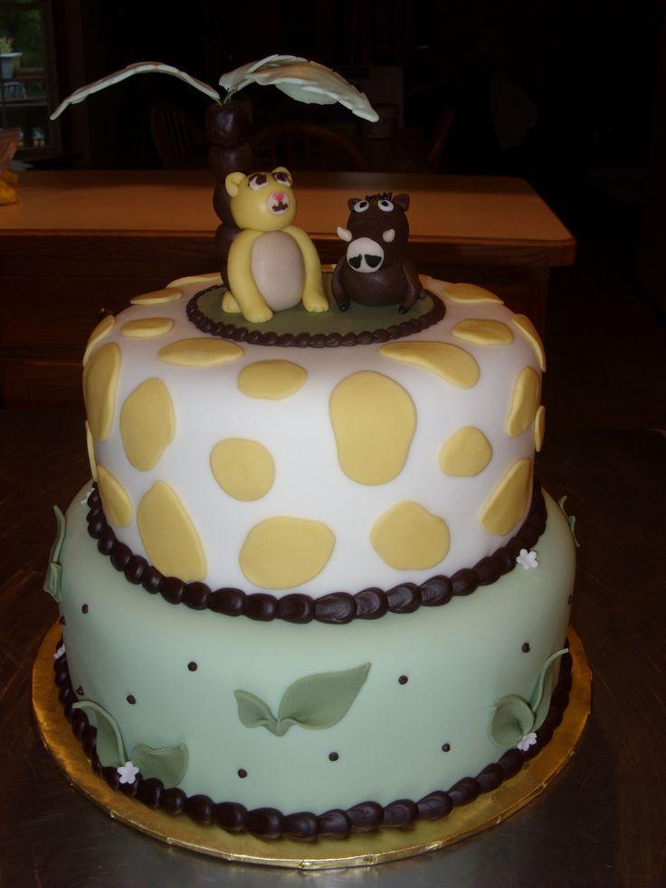 lion king baby shower cake baby shower pinterest