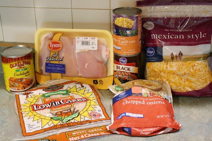 Skinny Chicken Enchilada Casserole | Skinny Mom | Where Moms Get The ...