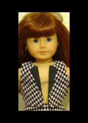 Doll Vest...FREE Pattern