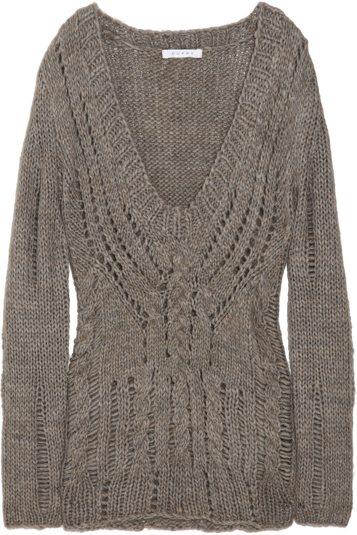 duffy cable knit