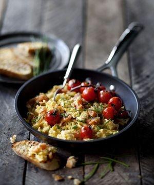 Scrambled eggs | FOOD STYLING | Pinterest